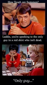 Star Trek red shirt meme