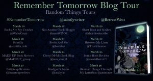 Remember Tomorrow Blog Tour Sites