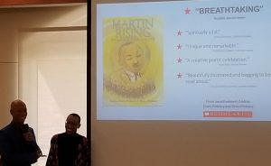 Brian Pinkney and Andrea Davis Pinkney discuss Martin Rising: Requiem for a King: the Pennsylvania Center for the Book 2019's Lee Bennett Hopkins Poetry Award winner