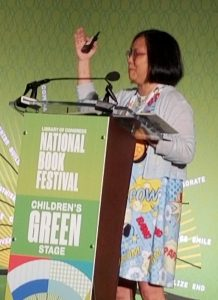 2019 National Book Festival Linda Sue Park