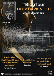 poster Book Blog: Deep Dark Night, Lori Anderson Series Book 4, Steph Broadribb