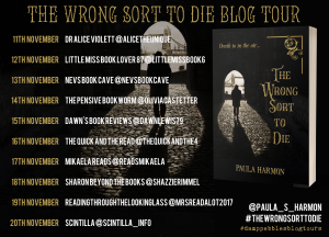 banner The Wrong Sort to Die, Paula Harmon