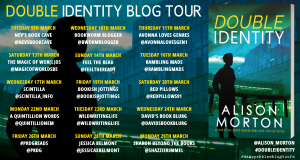 Double Identity, Alison Morton, banner
