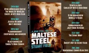 Book Review: Maltese Steel,John Steel Book 5, Stuart Field