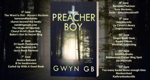 Book Review: Preacher Boy, Harrison Lane Book 1, Gwyn GB