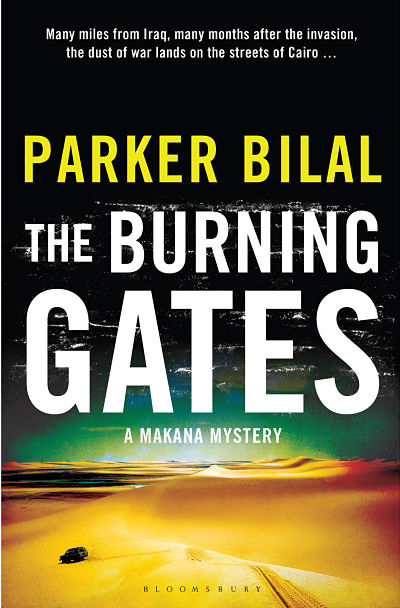 Book Review: The Burning Gates,A Makana Mystery Book 4, Parker Bilal